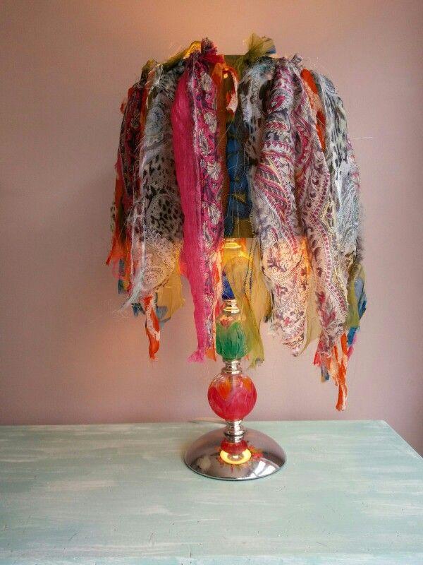 Diy Hippie Lamp