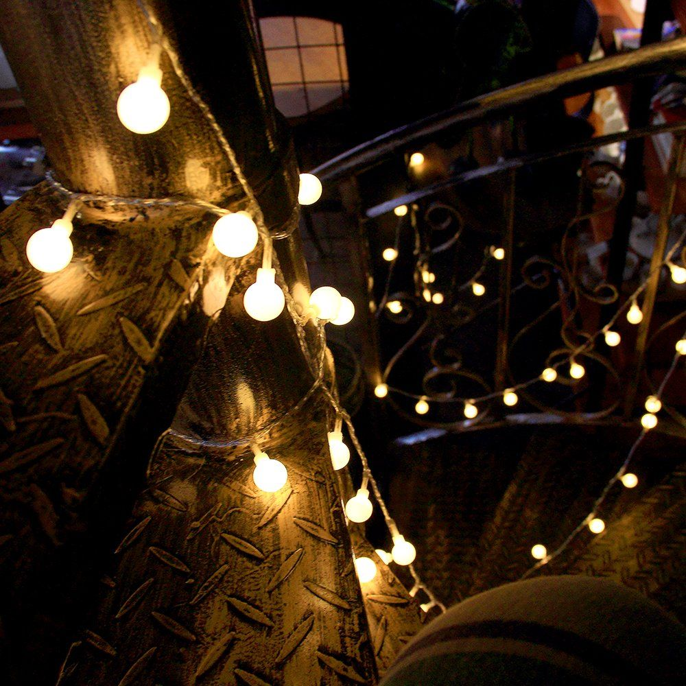 Indoor Fairy Lights 100 Led Globe String Festoon Party