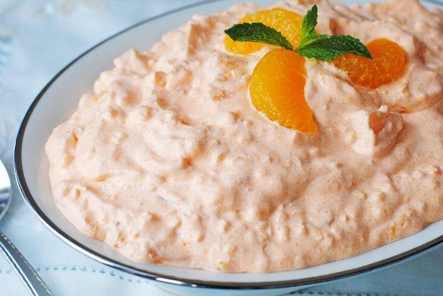 Orange Fluff Salad Recipes Food Orange Jello Salads