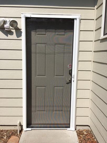 Odl 36 In X 80 In Brisa White Standard Retractable Screen Door