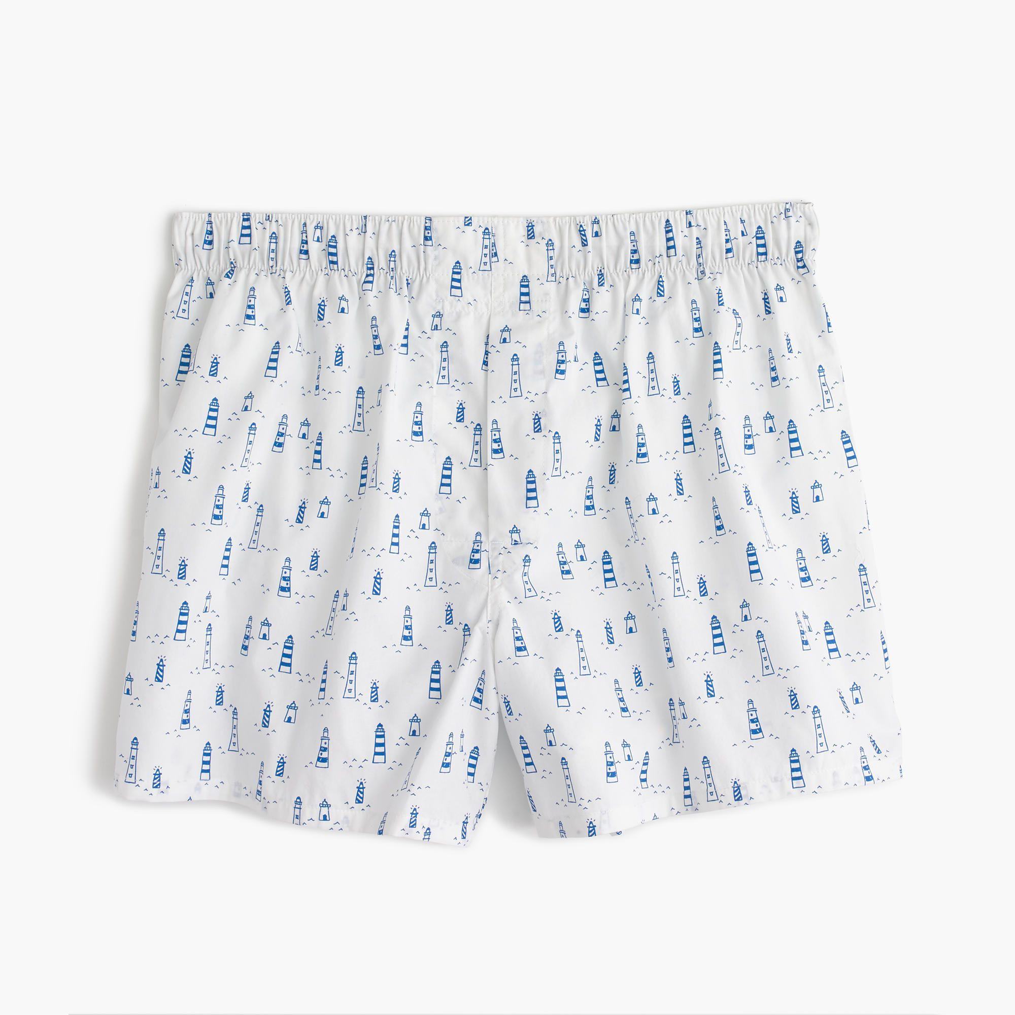 30efa7579580 Shop the Lighthouse Print Boxers at JCrew.com and see our entire selection  of Men's Boxers.