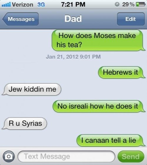 Aren't Jew funny