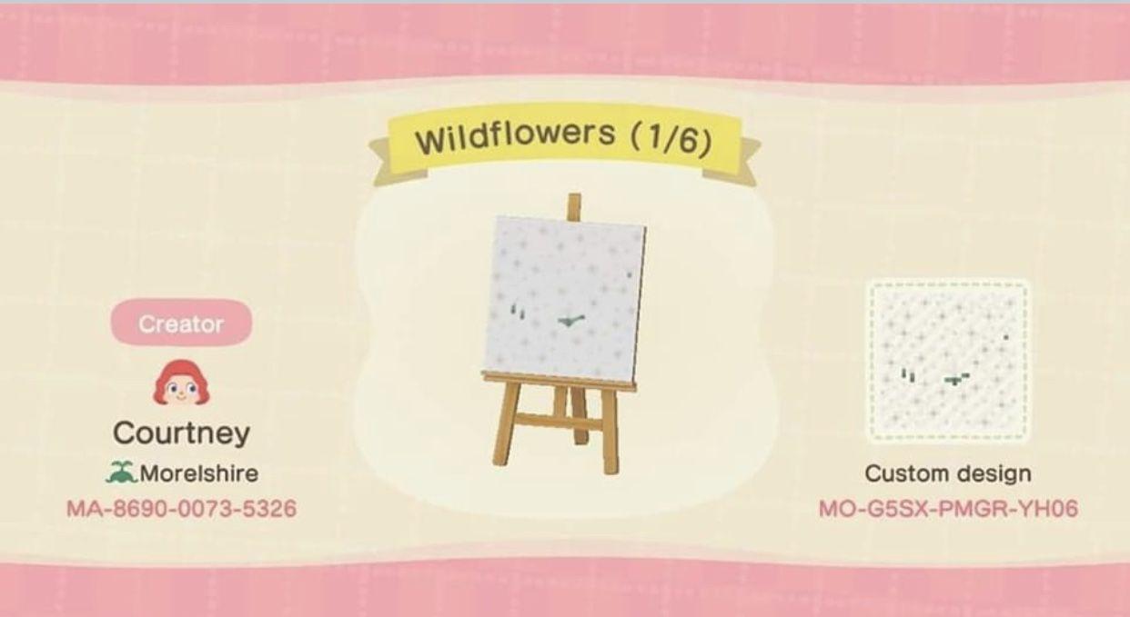 Windflower Design Animal Crossing New Animal Crossing Animal Crossing Qr