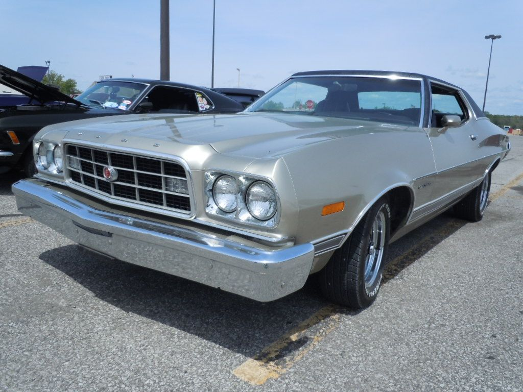 1973 silver and black Ford Gran Torino  What I drove in 1979