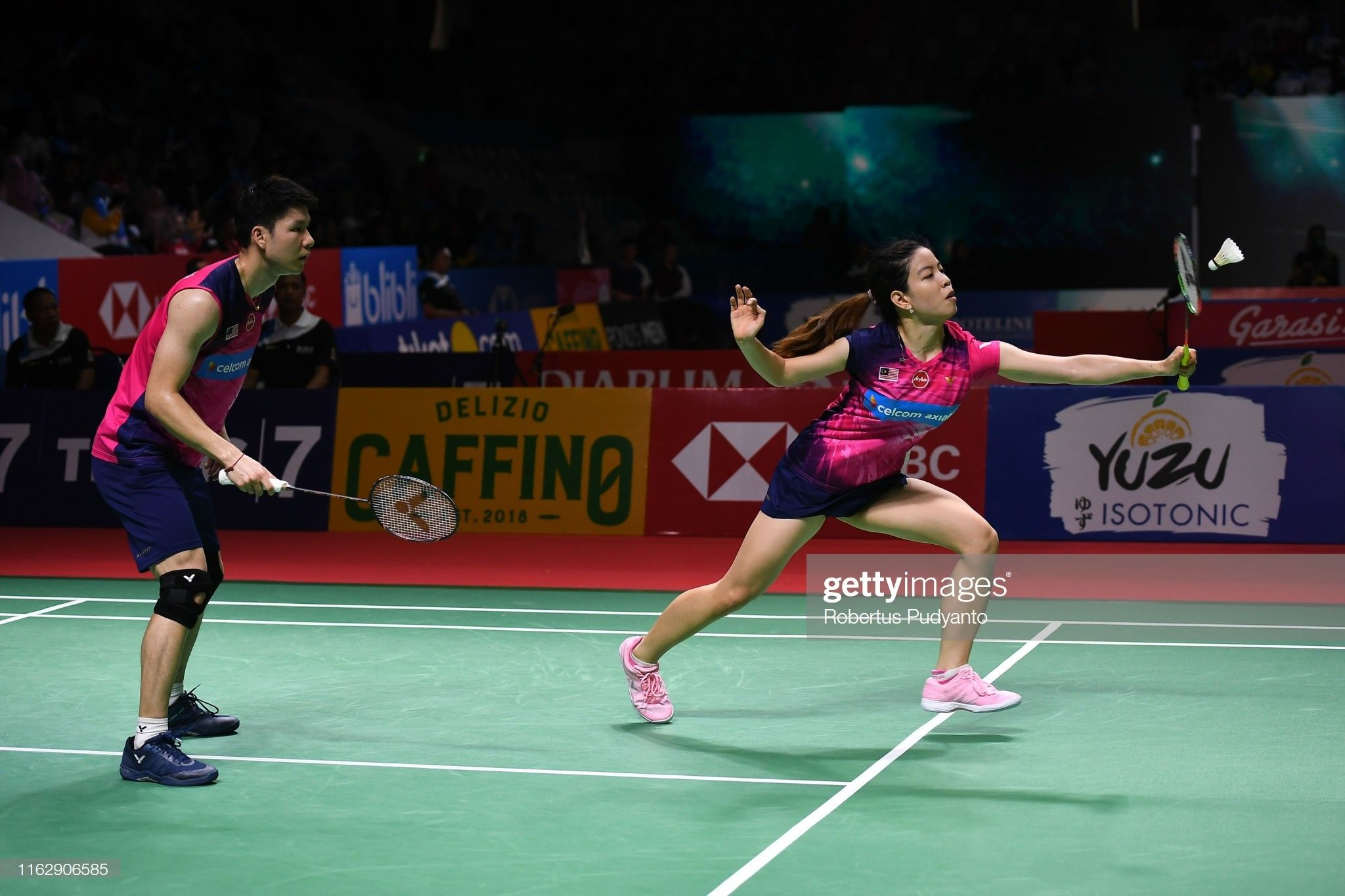 Pin By Badminton Athlete Collection On Mix Double Basketball Court Badminton Sports