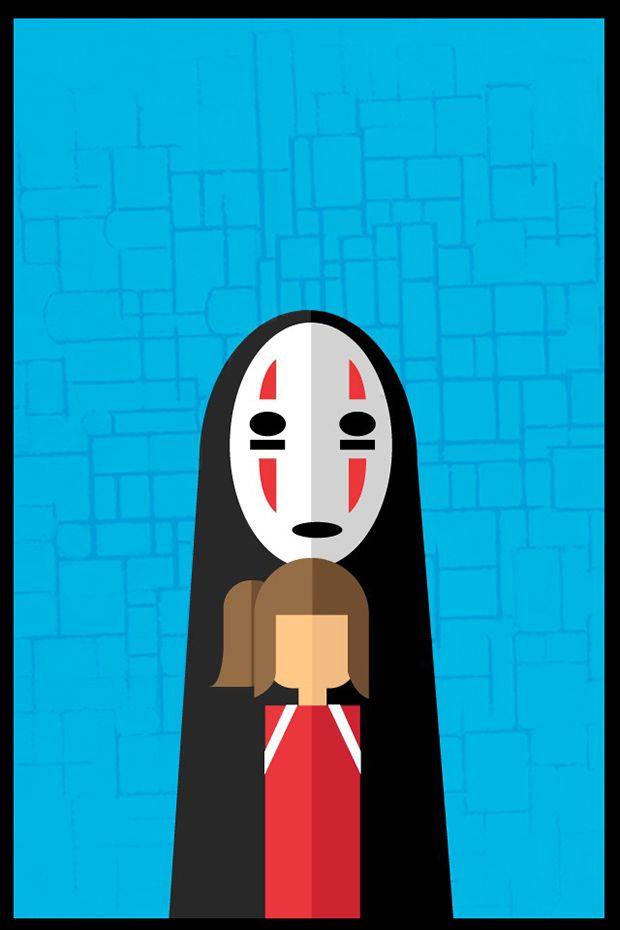 Minimalist Movie Poster // Movie Friday: 10 'Spirited Away ...