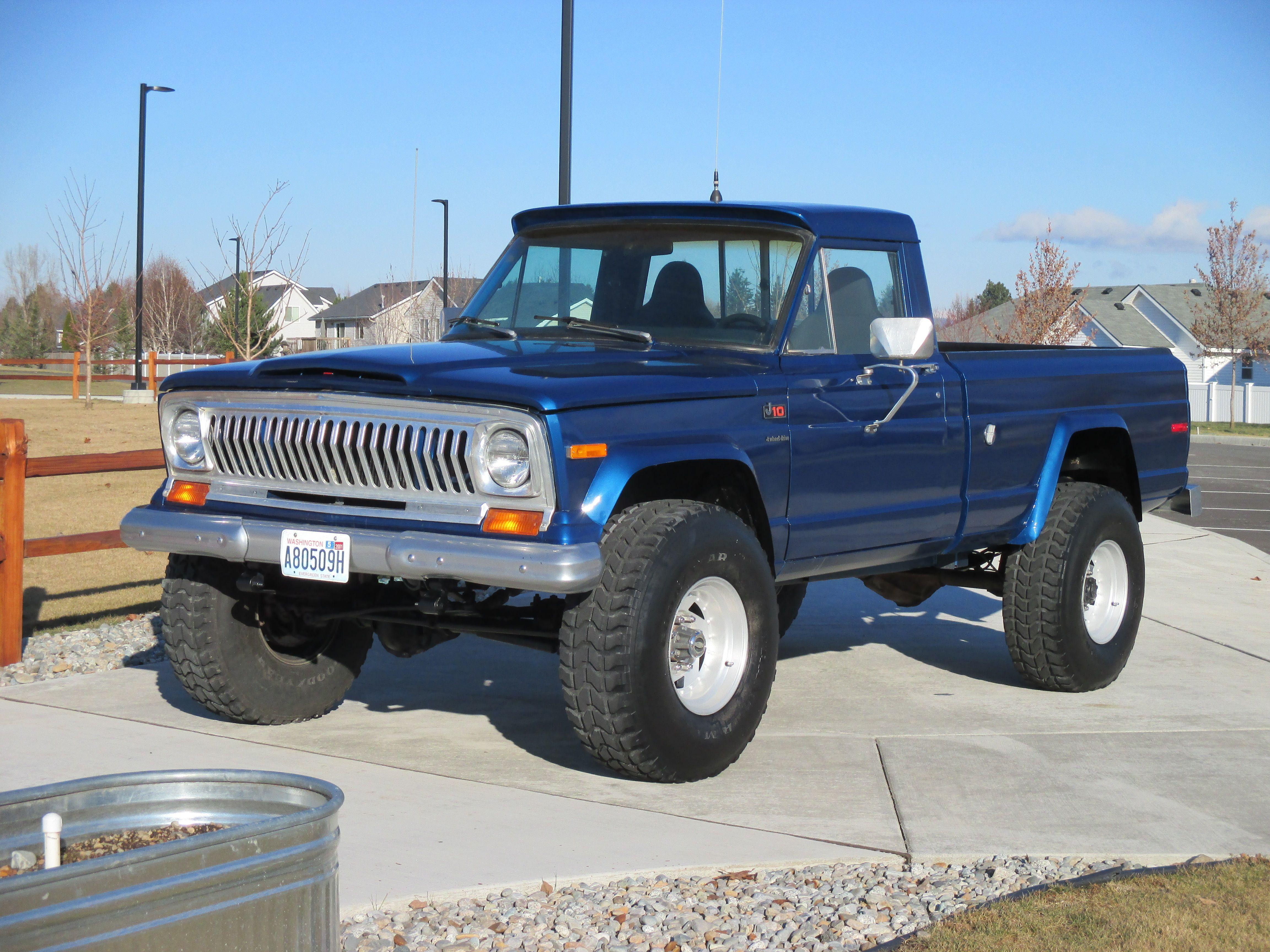 1976 jeep short bed build by hotrodsonny