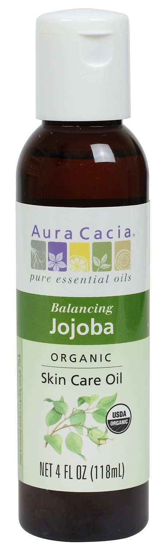 Amazon Com Aura Cacia Organic Skin Care Oil Balancing Jojoba 4 Fluid Ounce Body Oils Beauty Organic Skin Care Oils Organic Skin Care Oil Skin Care