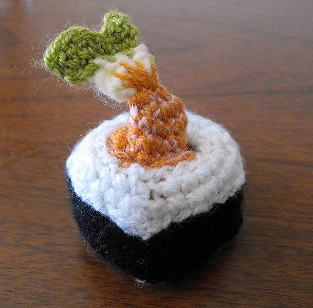 Ravelry: Fish to Sushi amigurumi pattern by Irene Kiss  OMGOSH!!! MUST CROCHET!!!!