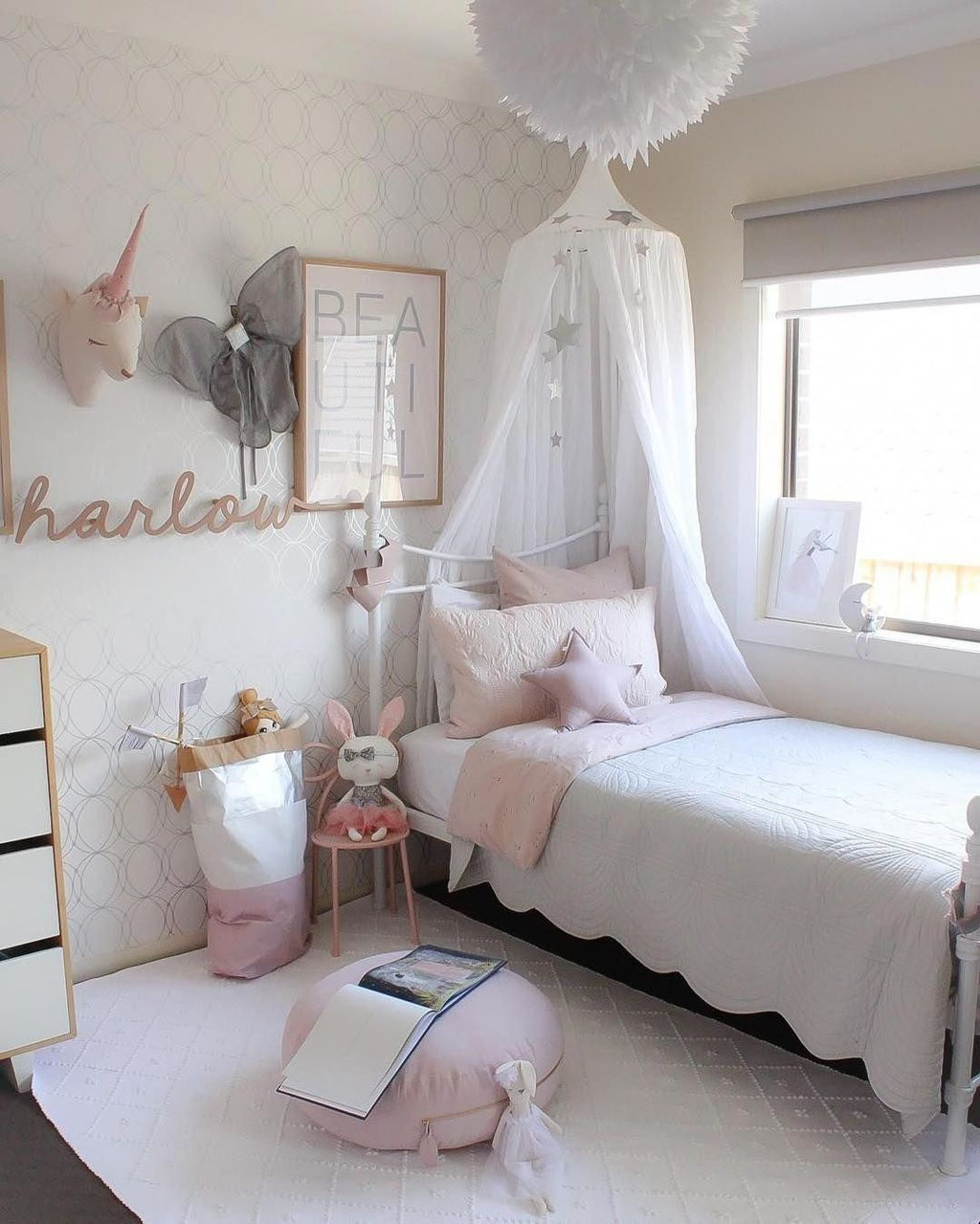 40 Cute Bedroom Ideas For Small Rooms Cute Bedroom Ideas Small Room Bedroom Girl Room
