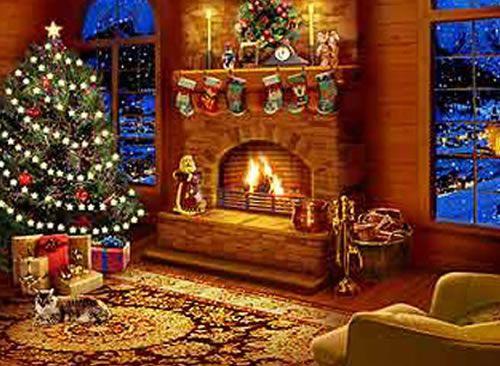 Christmas Fireplace Christmas Fireplace 5 Christmas Fireplace