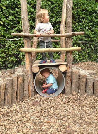 DIY Kinder im Freien Spielbereich Inspiration #diygardendecor