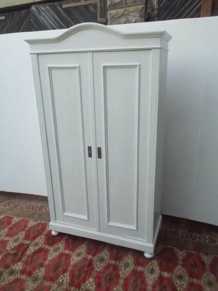 Shabby Chic Kleiderschrank Grunderzeit Bauernschrank Alter Schrank Mit Fachboden Interior Furniture Home Decor Decor