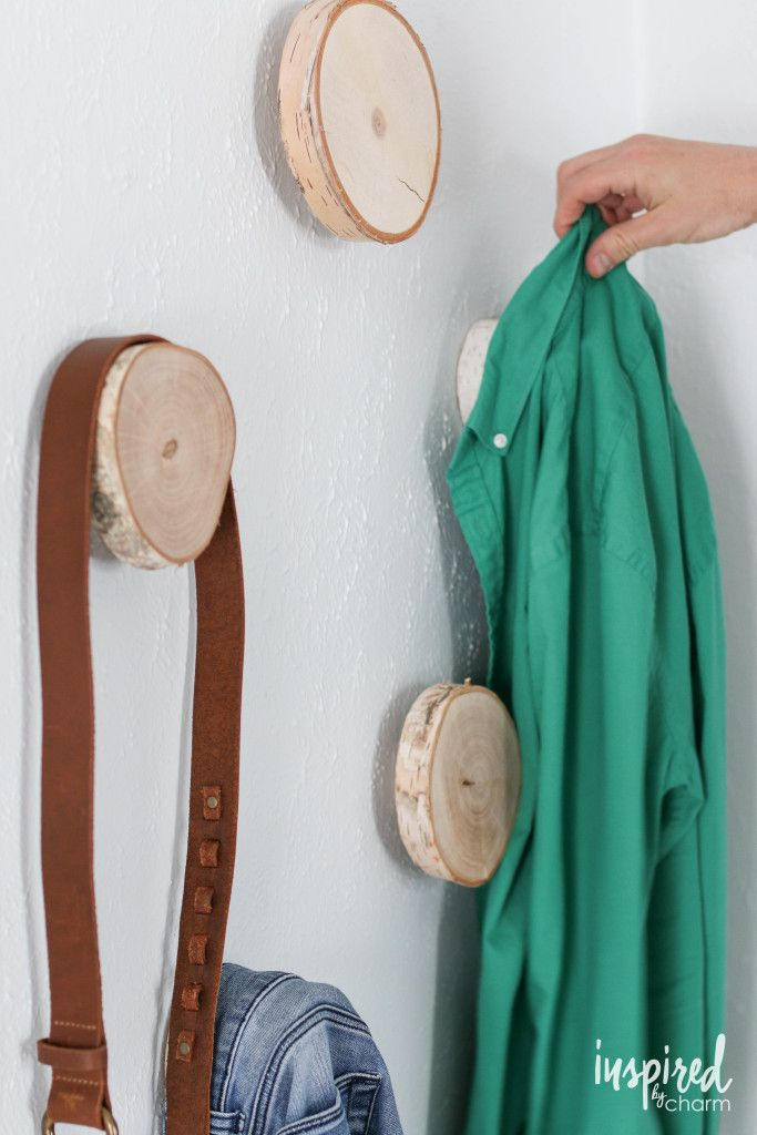 DIY Birch Hooks