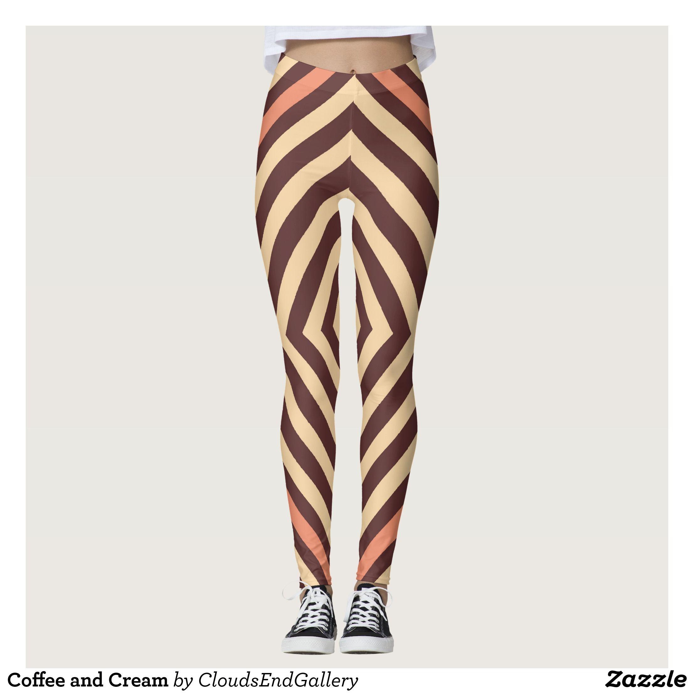 Coffee and Cream Leggings Cream leggings