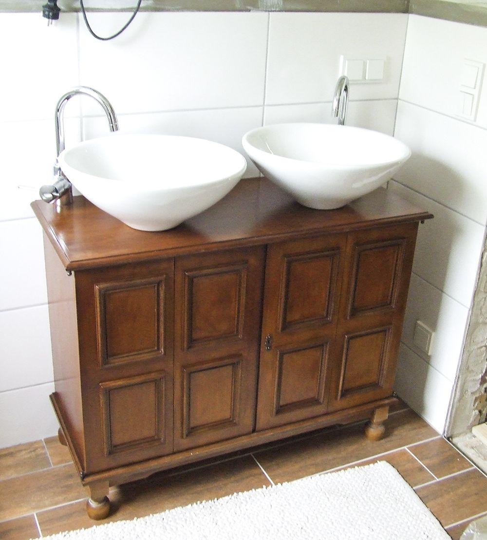 Tag 869 Gastbeitrag Badkommode Waschbecken Waschtisch Selber Bauen Und Bad Kommode