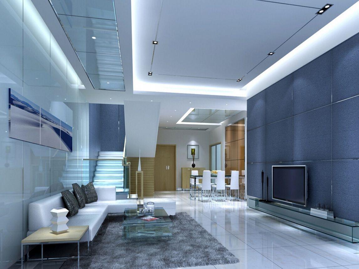 Elegant Interior Design For Duplex House Design