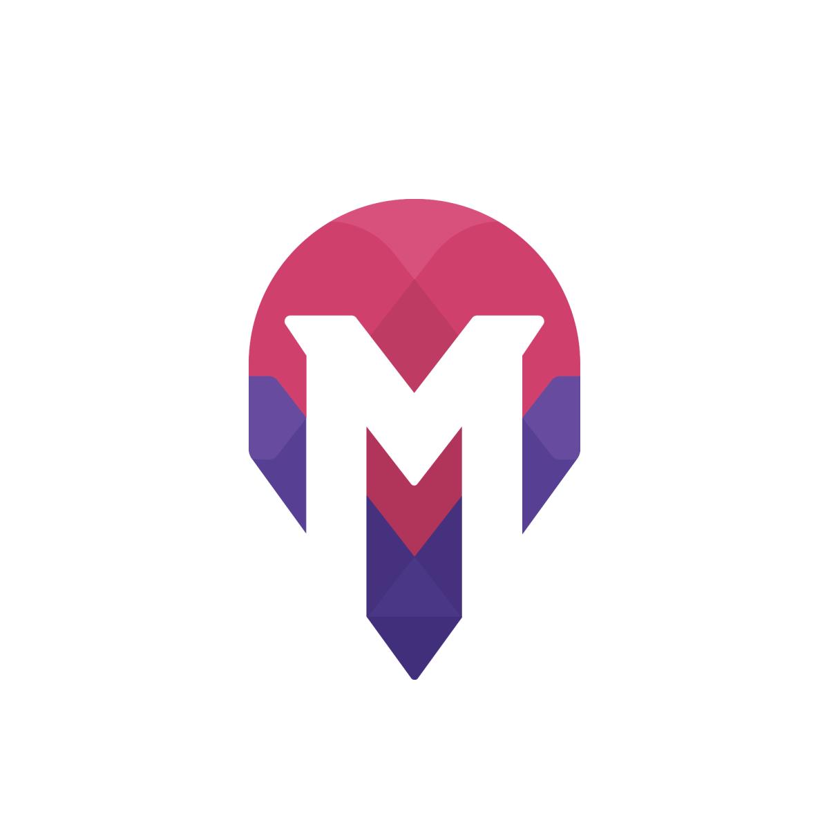 Magneto Logo Svg Letter Logo Letter M Logo Logos