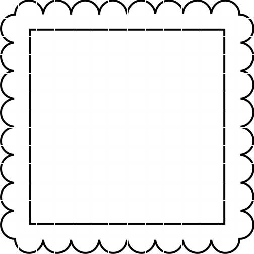 digital frames vector clipart black and white - Google Search