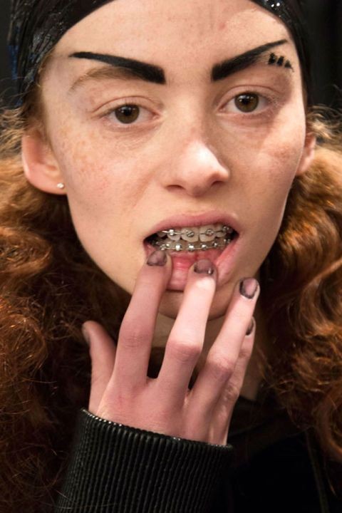 Nail artist Dawn Sterling gave Hood by Air models \'anti-manicures ...