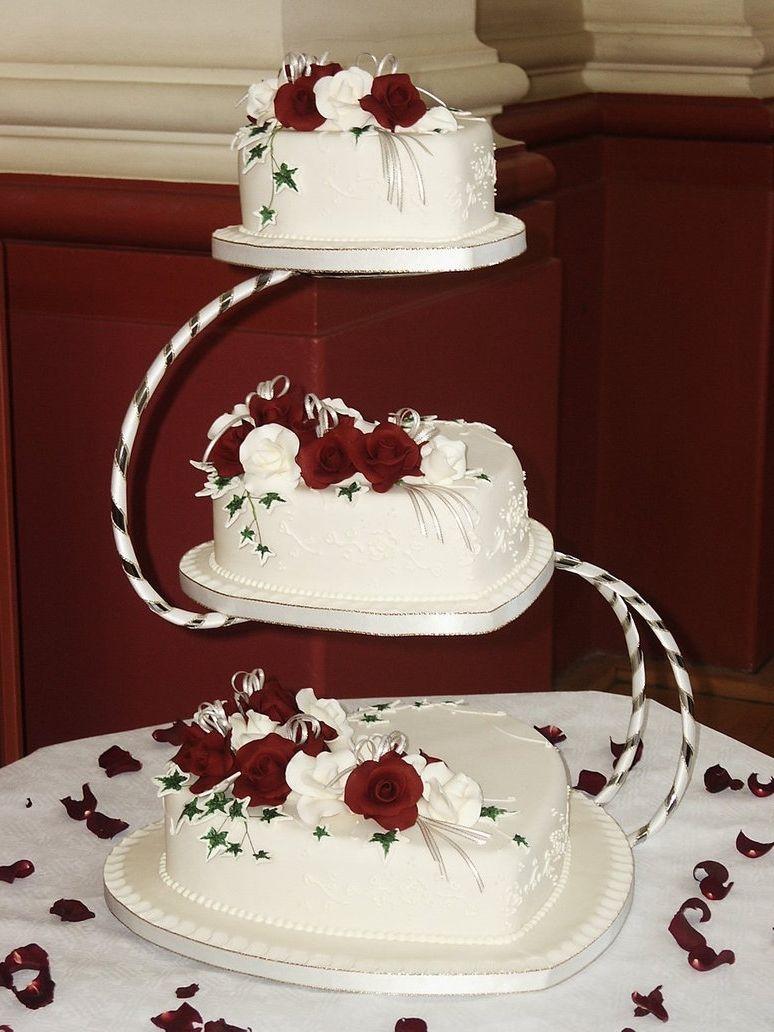 Burgundy Wedding Cake Decorations Burgundy wedding cake