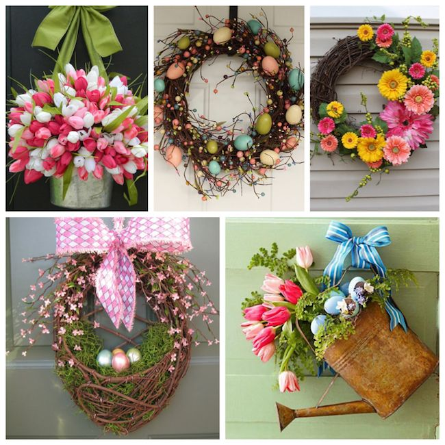 25 Cheery Spring Wreaths - Lydi Out Loud