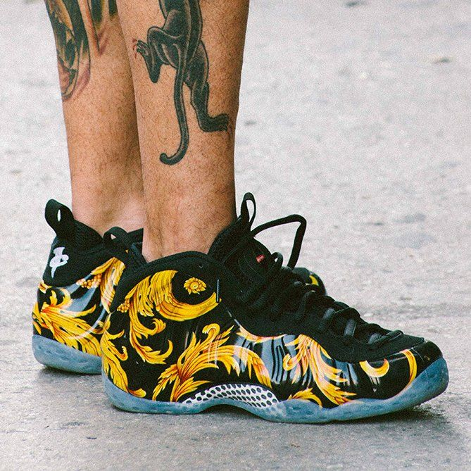 Supreme X Nike Air Foamposite One » Petagadget