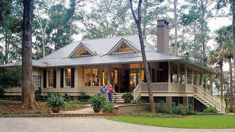 Southern Living New Tideland Haven Plan Sl 1824 Southern Living House Plans Modern Farmhouse Exterior Lake House Plans
