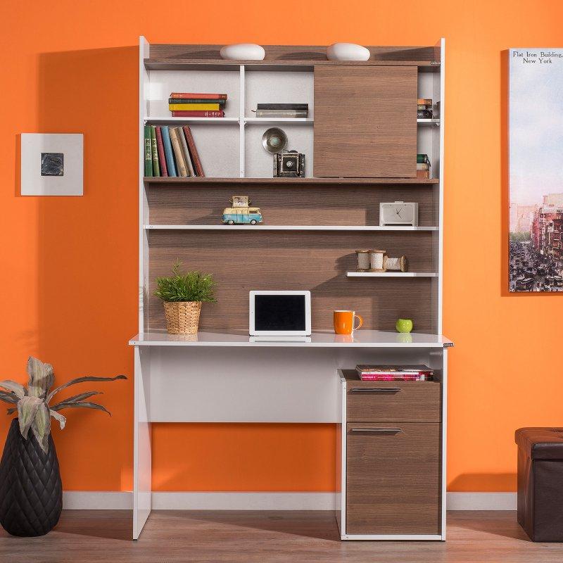 Astounding Adore Professional Desk With Shelf Unit Cms 45 Nb 1 Download Free Architecture Designs Scobabritishbridgeorg