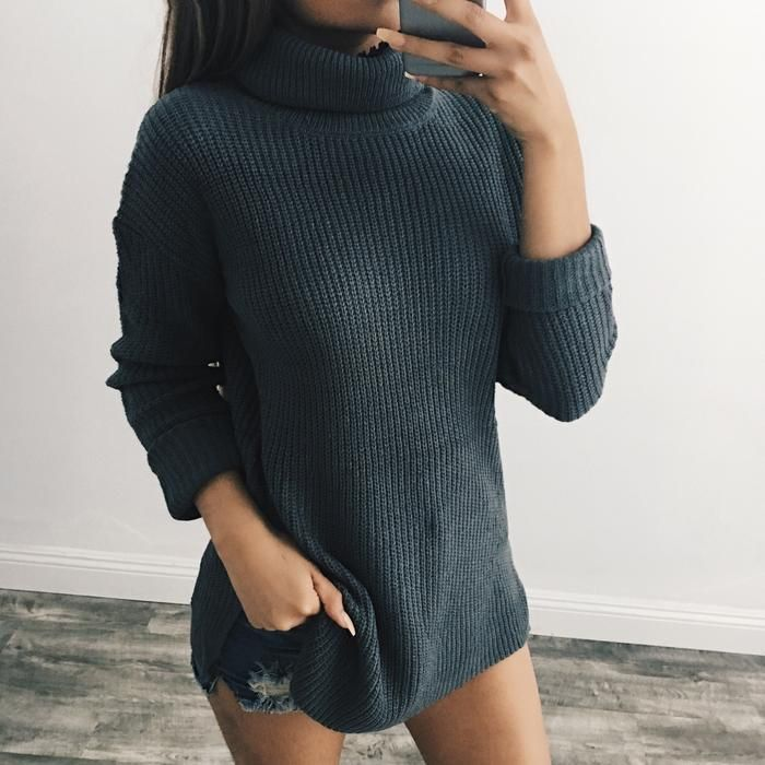 Jasmine Turtle Neck Sweater