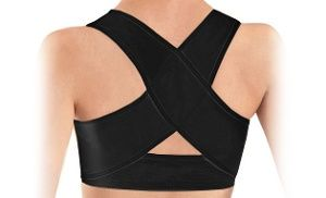 PostuRX Personal Posture Corrector with Breathable Silky Weave | Groupon