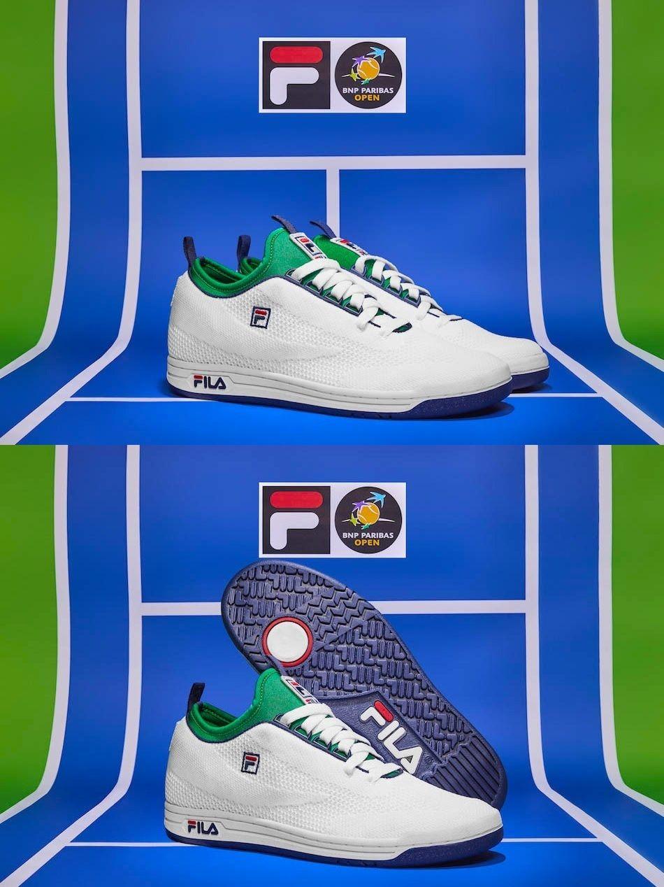 finest selection 90c18 bf124 ... BNP Paribas Open x FILA Original Tennis 2.0 Knit ...
