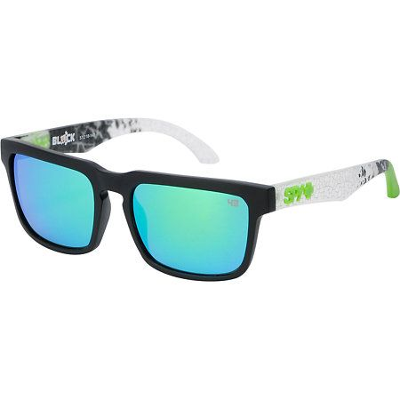 1e1e2489cdc Spy Sunglasses Helm Ken Block Livery Black Sunglasses in 2019