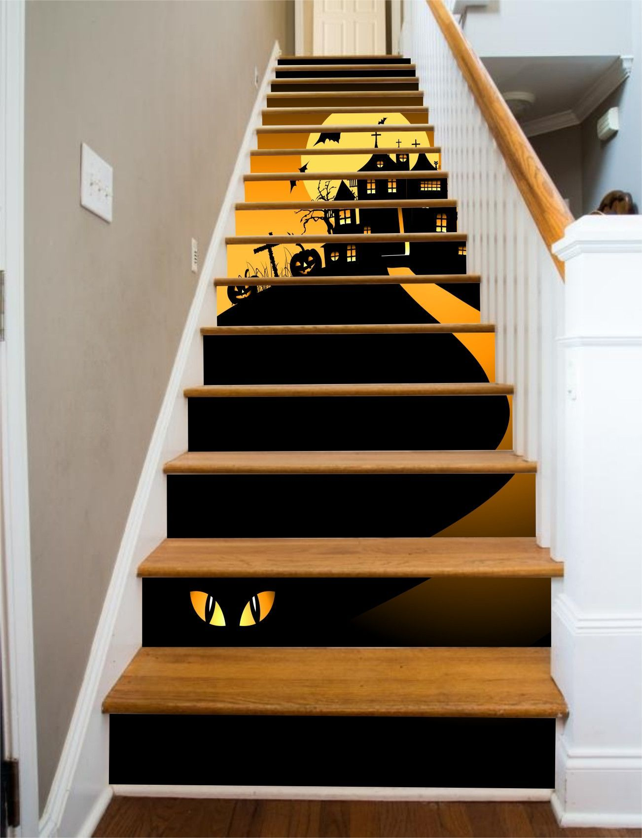 Halloween House, 15 Stairs   Halloween house, Spooky ...