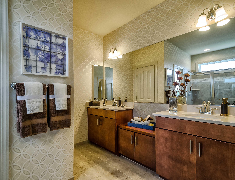 "The bathroom vanity design of the ""Chesapeake Ranch"" model ..."