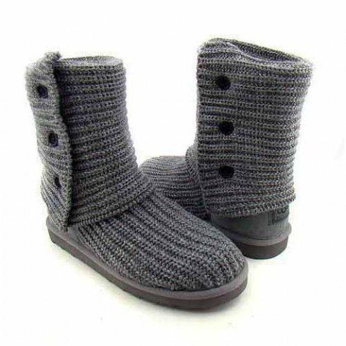 women ugg classic cardy 5819 grey goodies pinterest snow boot rh pinterest com