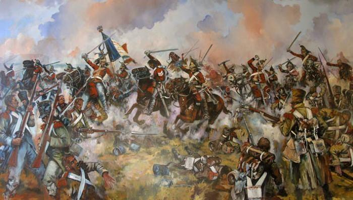 Charge Of The 1st Royal Dragoons At Waterloo Military Diorama Military Art Napoleonic Wars