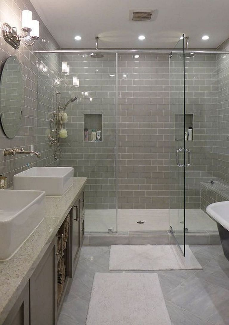 Elegant And Modern Bathroom Shower Tile Master Bath Ideas 28