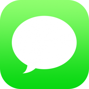 Printing Text Conversations From An Iphone Message Logo Messaging App App Pictures