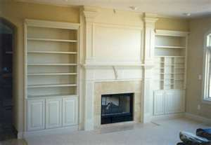 Fireplace and media storage