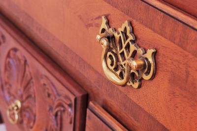 How To Attach An Under Mount Drawer Slide Ehow Dresser Handles How To Clean Brass How To Clean Metal