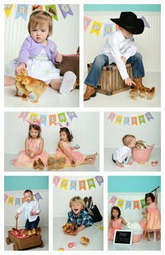 Easter Photoshoot Ideas For Toddlers