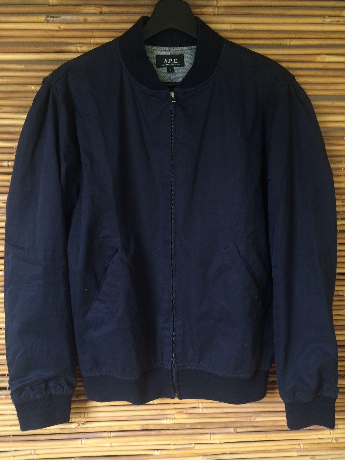 A P C Ma 1 Bomber Jacket Size S 205 Bomber Jacket Jackets Outerwear [ 1467 x 1100 Pixel ]