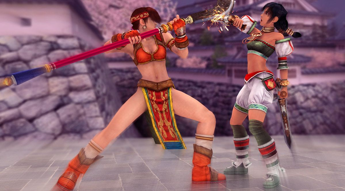 Work With My Favourite Characters From SC 2 Talim And Seung Mi Na Models By Soul Calibur II
