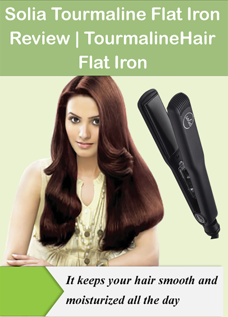 Solia Tourmaline Flat Iron Review Hair