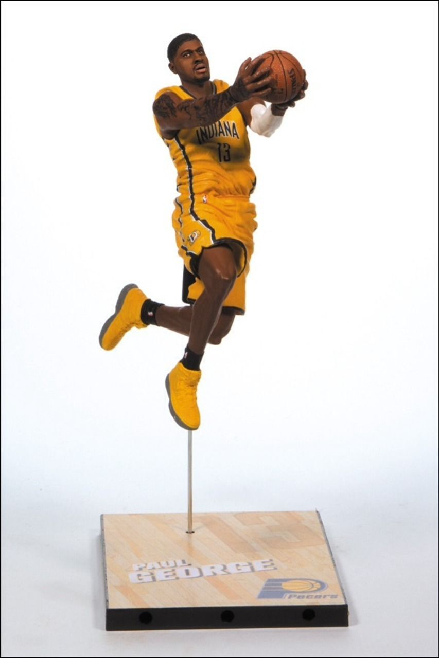 f1cc08769ace Indiana Pacers - Paul George - Collectible Sports Figure - McFarlane Toys - NBA  Series 25 - Infinite Sports Cards