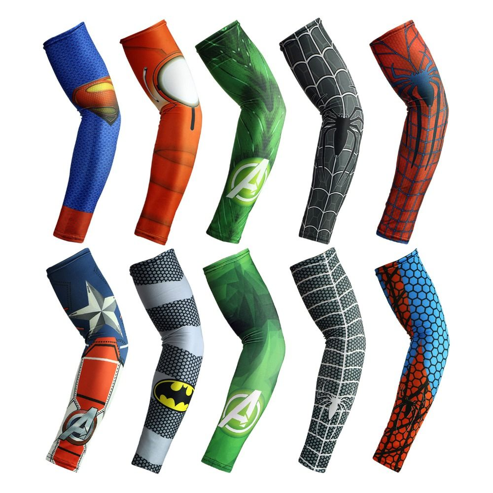 Bike Bicycle Cycling UV Sun Protection Arm Warmers Cuff Sleeve Cover 5-Color