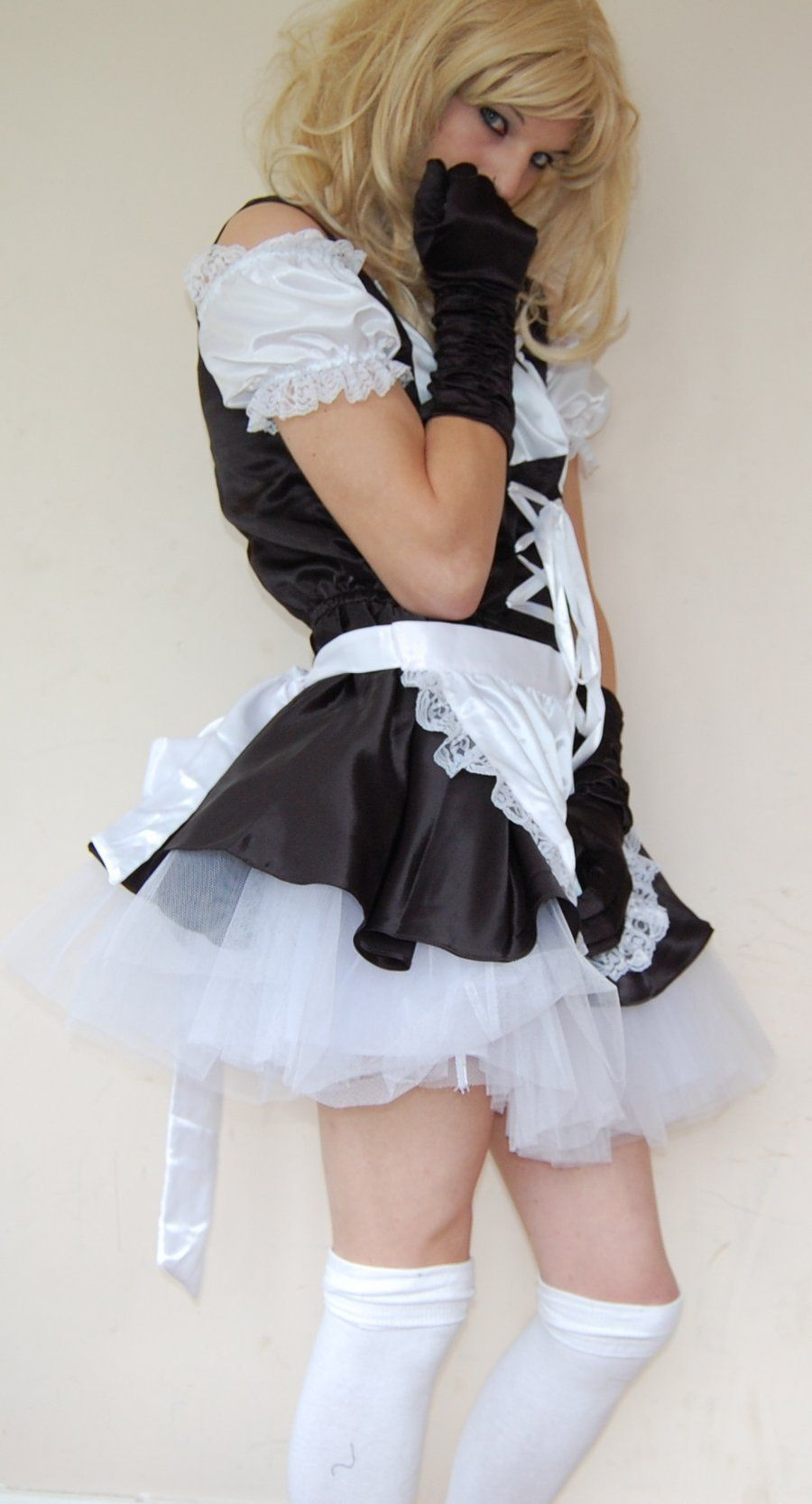 Puffy french maid