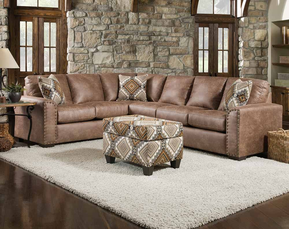 Best Santa Fe Silt 2 Pc Sectional Sofa American Freight 400 x 300