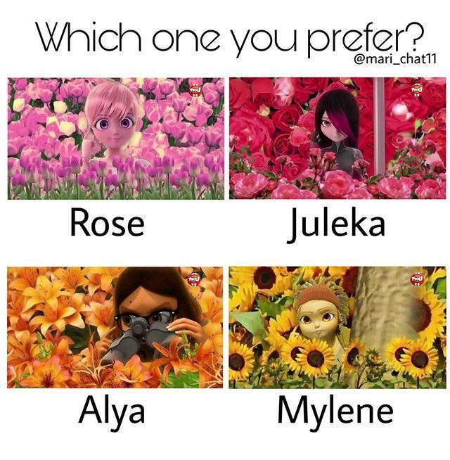 Code Names Tulip Rose Tigerlily Sunflower Miraculous Ladybug Fan Art Ladybug And Chat Noir Miraculous Ladybug Comic